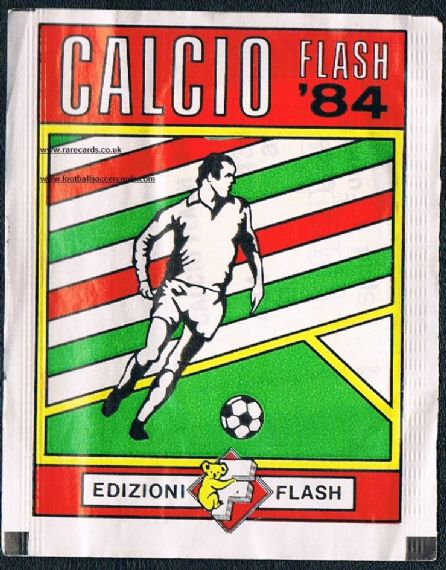1984 Flash Calcio 84 SEALED as NEW